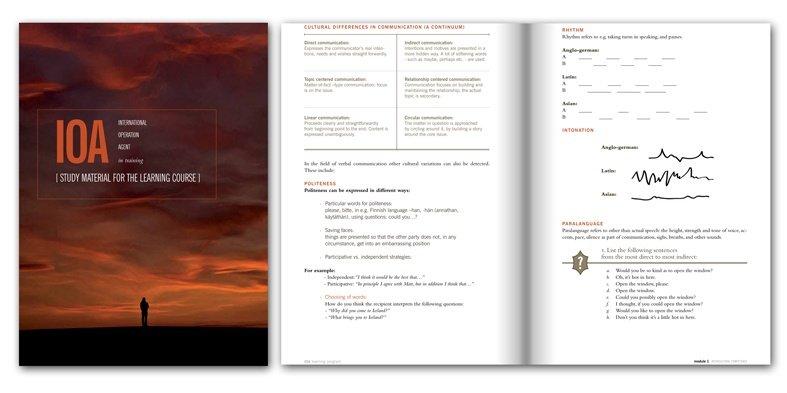 Training Book Design
